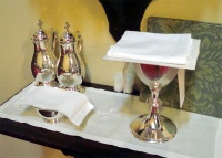 Setup For Eucharist